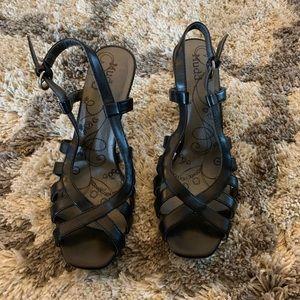 Black Mudd Heels